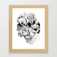 Balthazar Dwarven Party Machine Framed Art Print
