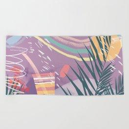 Summer Pastels Beach Towel