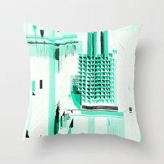B_map Throw Pillow
