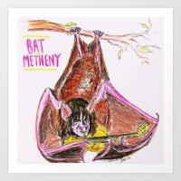Bat Metheny  Art Print