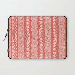 Pink Peachy Knit Laptop Sleeve