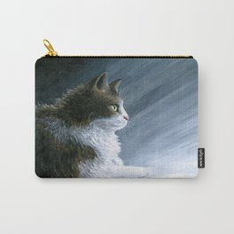 Cat & Ray of light Carry-All Pouch