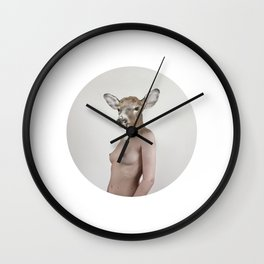 Therianthrope - Doe Wall Clock