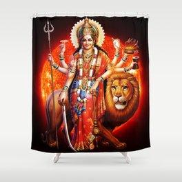 Hindu Durga 8 Shower Curtain