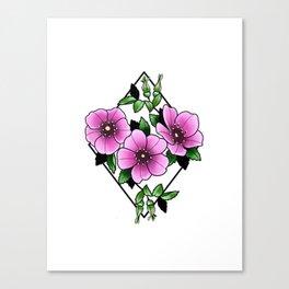 Nootka Rose Canvas Print