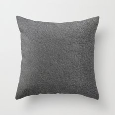 Black Stone Texture Throw Pillow