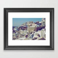 Oia, Santorini, Greece III Framed Art Print