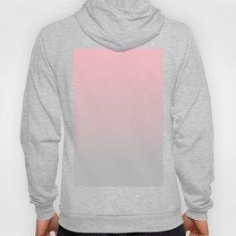 Elegant gradient blush pink - grey Hoody