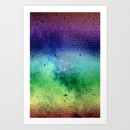 sky the way Art Print