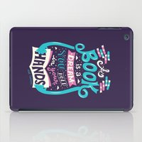risa rodil iPad Cases featuring Book is a dream by Risa Rodil
