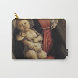Sandro Botticelli - Madonna in Glory with Seraphim Carry-All Pouch