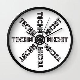 Techno star Wall Clock