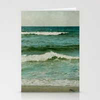 emerald Stationery Cards featuring emerald by Iris Lehnhardt