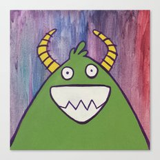 Monsters: Jimmy Canvas Print