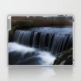 Waterfall in the park Laptop & iPad Skin