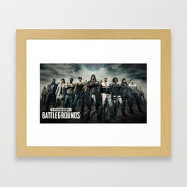 PUBG 6 Framed Art Print