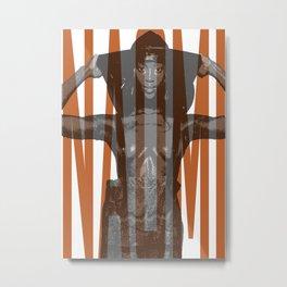 Beauty Naomi Metal Print