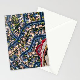 Blissful Suburbia  Stationery Cards