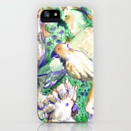 all cockatoos are perfect iPhone Case