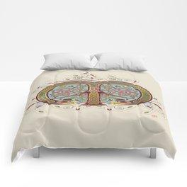 Celtic Initial M Comforters