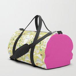 Ocean Damask Duffle Bag