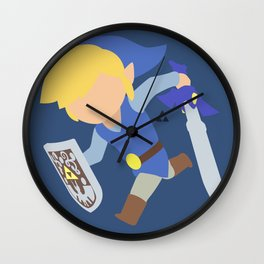 Toon Link(Smash)Blue Wall Clock