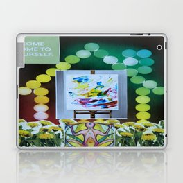 Collage - Come Home to Yourself Laptop & iPad Skin