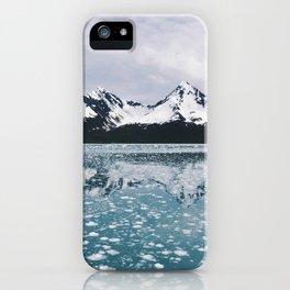Icy Kenai reflection iPhone Case