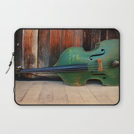 Double Bass Laptop Sleeve