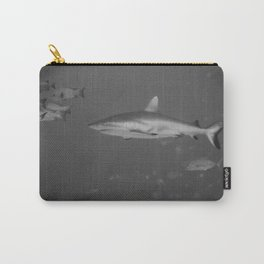 Battle-scarred shark Carry-All Pouch