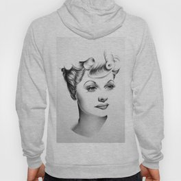 Lucille Ball Minimal Portrait Hoody