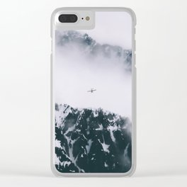 Mountain Flight Clear iPhone Case