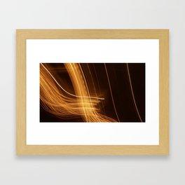 Light Photography #1 Framed Art Print