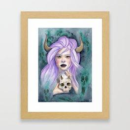 Queen Of Death Framed Art Print