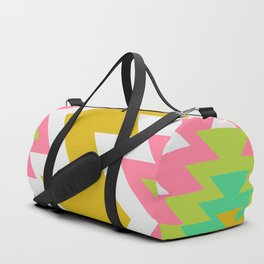 Bohemian shapes Duffle Bag