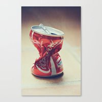 coke Canvas Prints featuring Coke by Ntaly