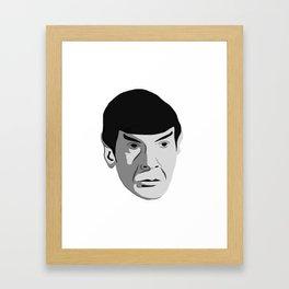 Highly Illogical Framed Art Print