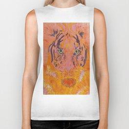 """Tiger """"Diana"""" A hunting Goddess... Biker Tank"""