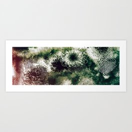 Eyes Still Clouded Art Print