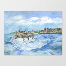 Vaporcito en Puerto Sherry (Cádiz) Canvas Print