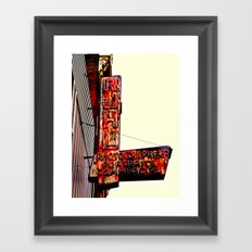 Ruhl's Photography Sign Framed Art Print