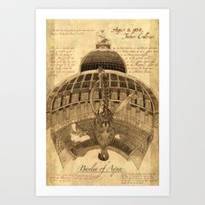 Cathedral of Water Art Print