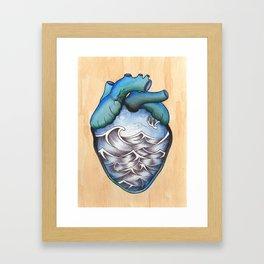 When You Leave Framed Art Print