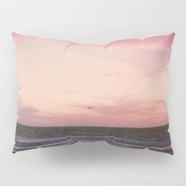 Beachy Birdy Sunset Pillow Sham