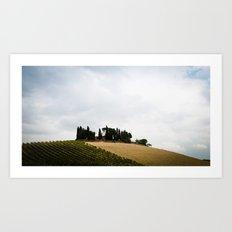 House on the Hills Art Print