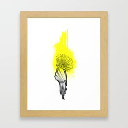 lighter/lower//higher/heavy Framed Art Print