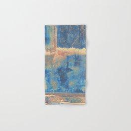 Rusted Metal Plates Abstract Hand & Bath Towel