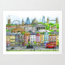 Welcome to London Art Print