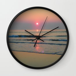 Sparkly Sunrise Wall Clock