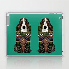 Basset Hound jade Laptop & iPad Skin